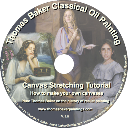 Canvas stretching DVD