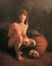 Anasazi cannibal woman